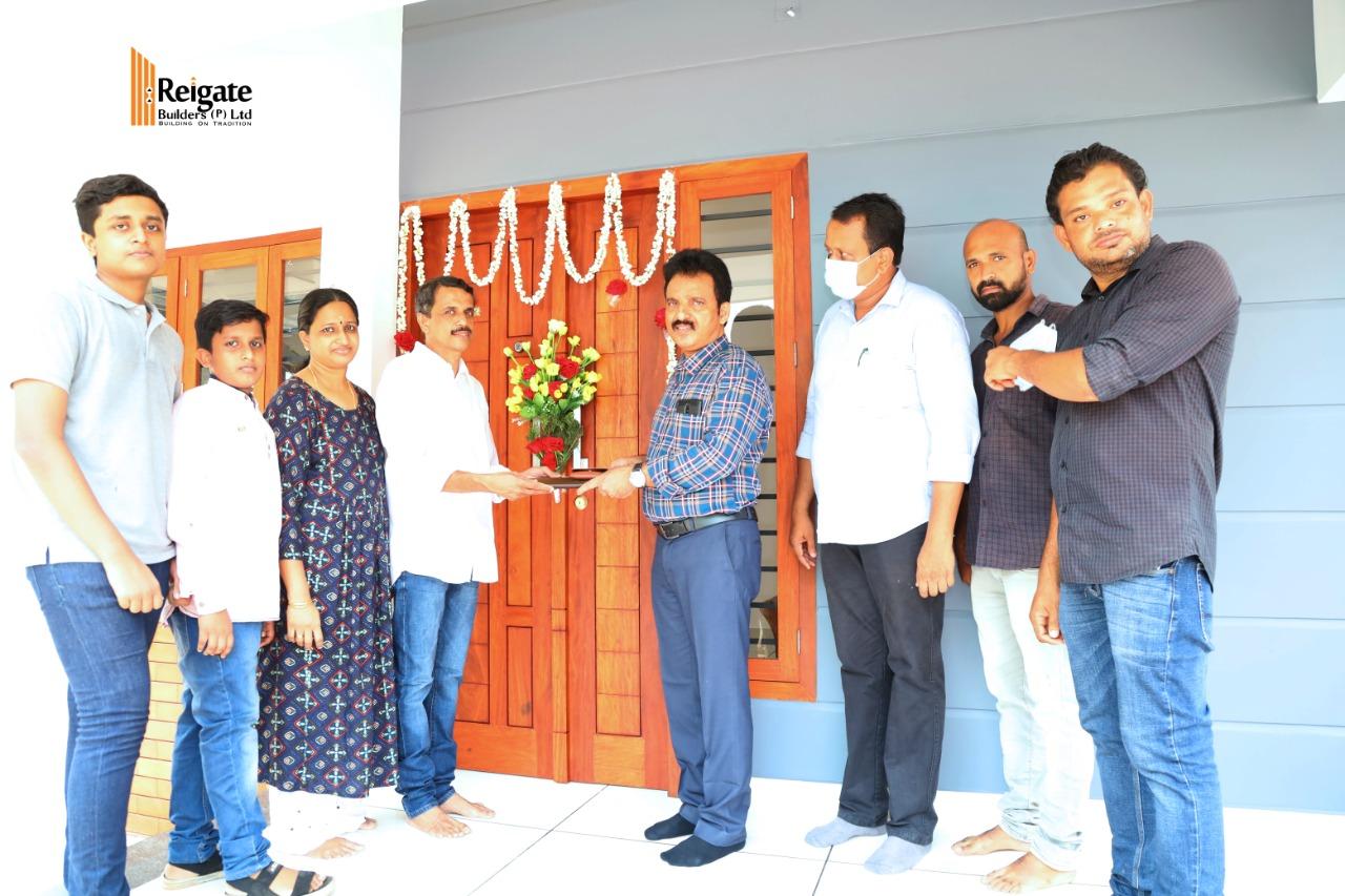 Reigate Wayside Villa Handing Over Ceremony