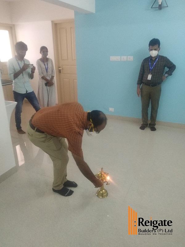 Deepak Gopinath Client 1D - Marina apartment project Handing Over